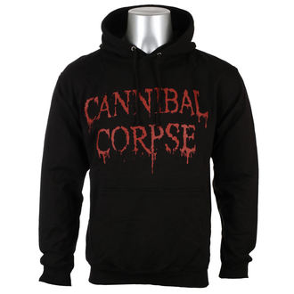 sweat-shirt avec capuche pour hommes Cannibal Corpse - DRIPPING LOGO - PLASTIC HEAD, PLASTIC HEAD, Cannibal Corpse