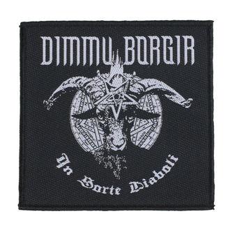Patch Dimmu Borgir - In Sorte Dlaboll - RAZAMATAZ, RAZAMATAZ, Dimmu Borgir