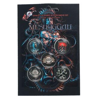 Badges Meshuggah - 1Aolent Sleep Of Reason, RAZAMATAZ, Meshuggah