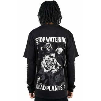 T-shirt unisexe à manches longues KILLSTAR - Dead Rose Double - NOIR, KILLSTAR