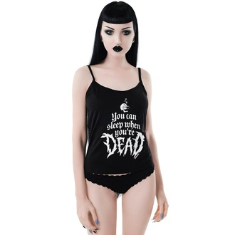 Top (pyjama) KILLSTAR pour femmes - Dead Sleepy - NOIR, KILLSTAR