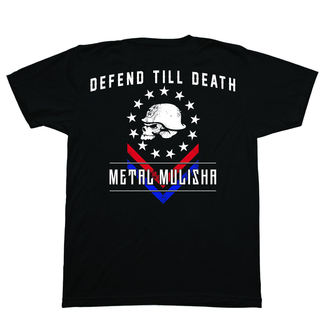 tee-shirt street pour hommes - DEFEND - METAL MULISHA, METAL MULISHA