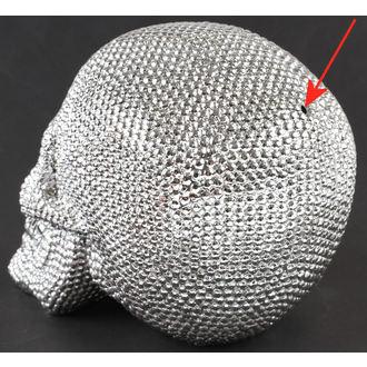 décoration Crâne - Silver - 78/5744 - ENDOMMAGÉ