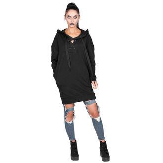 sweat-shirt avec capuche pour femmes - BLACK - AMENOMEN, AMENOMEN
