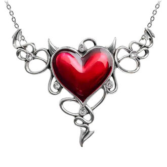 Collier ALCHEMY GOTHIC - Devil Heart Genereux, ALCHEMY GOTHIC