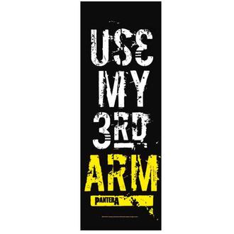 Drapeau Pantera - Use my 3rd Arm, HEART ROCK, Pantera