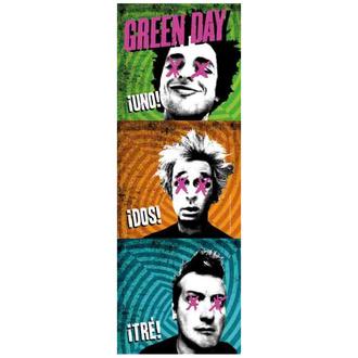 Drapeau Green Day - 1-2-3, HEART ROCK, Green Day