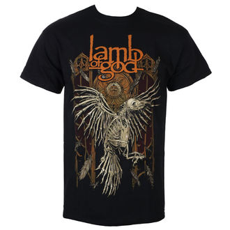 tee-shirt métal pour hommes Lamb of God - Crow - ROCK OFF, ROCK OFF, Lamb of God