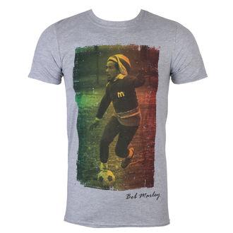 tee-shirt métal pour hommes Bob Marley - Rasta Football - ROCK OFF, ROCK OFF, Bob Marley