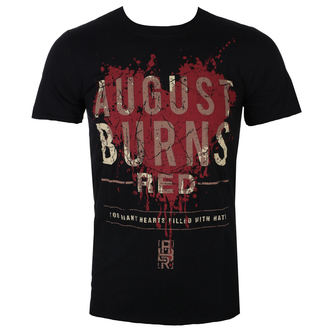 tee-shirt métal pour hommes August Burns Red - Heart Filled - ROCK OFF, ROCK OFF, August Burns Red