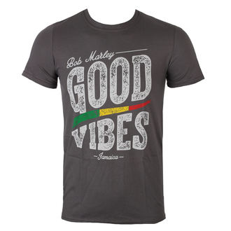 tee-shirt métal pour hommes Bob Marley - Good Vibes - ROCK OFF, ROCK OFF, Bob Marley