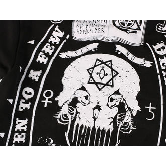sweat-shirt avec capuche pour hommes - DEATH TO ALL- BLACK - HEARTLESS, HEARTLESS