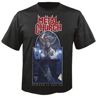 tee-shirt métal pour hommes Metal Church - Damned if you do - NUCLEAR BLAST, NUCLEAR BLAST, Metal Church