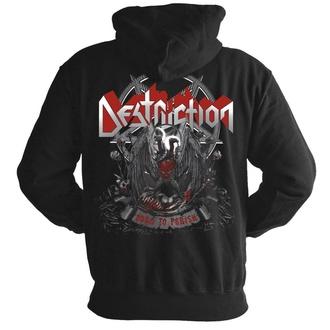 sweat-shirt avec capuche pour hommes Destruction - Born to perish - NUCLEAR BLAST, NUCLEAR BLAST, Destruction