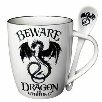 Mug avec cuillère ALCHEMY GOTHIC - Dragon is Stirring, ALCHEMY GOTHIC