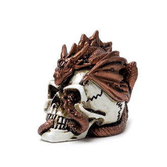 Décoration ALCHEMY GOTHIC - Dragon Keeper Skull, ALCHEMY GOTHIC