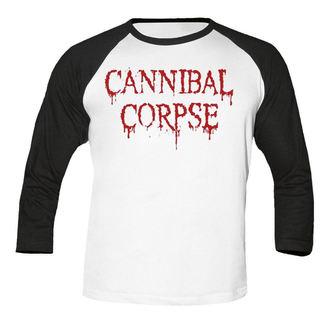 tee-shirt métal pour hommes Cannibal Corpse - Dripping logo BASEBALL - NUCLEAR BLAST, NUCLEAR BLAST, Cannibal Corpse
