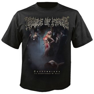 tee-shirt métal pour hommes Cradle of Filth - Exquisite torments await - NUCLEAR BLAST, NUCLEAR BLAST, Cradle of Filth