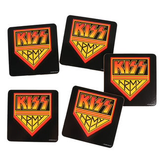 Sous-verres KISS - ROCK OFF, ROCK OFF, Kiss