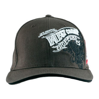 Casquette West Coast Choppers - WINGS - Anthracite, West Coast Choppers