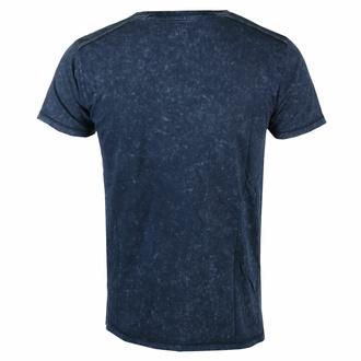 T-shirt pour homme Avenged Sevenfold - Logo Snow Wash - NAVY - ROCK OFF, ROCK OFF, Avenged Sevenfold