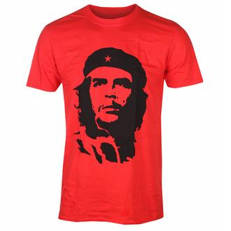 T-shirt pour hommes Che Guevara - Noir Sur rouge - ROUGE - ROCK OFF, ROCK OFF, Che Guevara