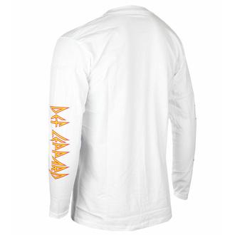 T-shirt pour homme à manches longues Def Leppard - Shatter - Noir - ROCK OFF, ROCK OFF, Def Leppard