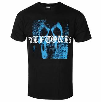 T-shirt pour homme Deftones - Static Skull - Noir - ROCK OFF, ROCK OFF, Deftones