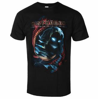 T-shirt pour homme Disturbed - DNA Swirl - Noir - ROCK OFF, ROCK OFF, Disturbed