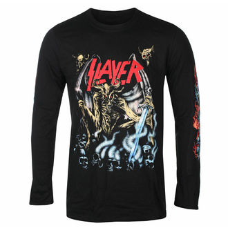 T-shirt pour homme manche longue Slayer - Airbrush Démon - Noir - ROCK OFF, ROCK OFF, Slayer