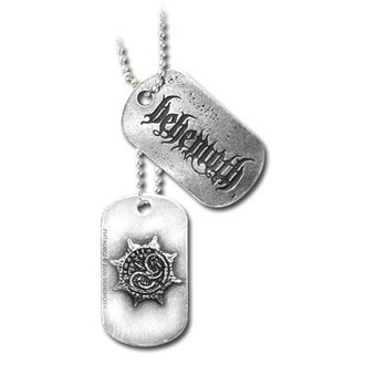 collier 'de chien plaque' ALCHEMY GOTHIC - Behemoth, ALCHEMY GOTHIC, Behemoth