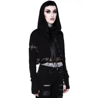 Sweat à capuche KILLSTAR pour femmes - Dust Storm Cropped Hoodie, KILLSTAR