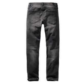 Pantalon pour homme BRANDIT - Rover - Noir denim - slim fit, BRANDIT