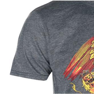 T-shirt pour hommes Queen - Classic Crest - GRIS - ROCK OFF, ROCK OFF, Queen