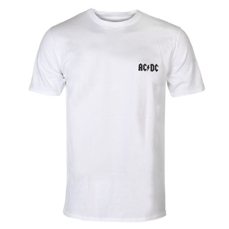 T-shirt AC DC pour hommes - F&B - Black Ice - WHT - ROCK OFF, ROCK OFF, AC-DC