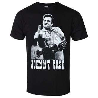 T-shirt pour hommes JOHNNY CASH - FINGER SALUTE - NOIR - GOT TO HAVE IT, GOT TO HAVE IT, Johnny Cash