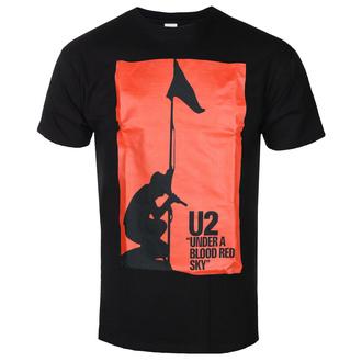 T-shirt pour hommes U2 - UNDER ABLOOD RED SKY - NOIR - GOT TO HAVE IT, GOT TO HAVE IT, U2