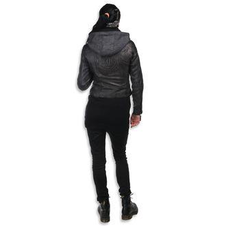 veste en cuir pour femmes AC-DC - Antracite - NNM, NNM, AC-DC
