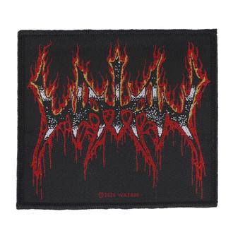 Patch Watain - Flaming Logo - RAZAMATAZ, RAZAMATAZ, Watain