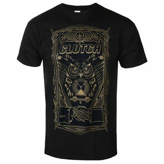 t-shirt pour homme Clutch - All Seeing Owl - Noir - INDIEMERCH, INDIEMERCH, Clutch