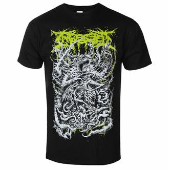 t-shirt pour homme Ingested - Démon - Noir - INDIEMERCH - INM059