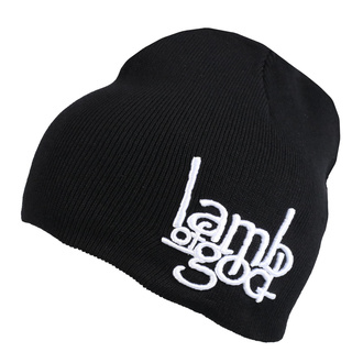 Bonnet Lamb Of God - Logo - ROCK OFF, ROCK OFF, Lamb of God