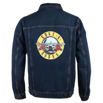 Veste pour hommes Guns N' Roses - Classic Logo - DENIM - ROCK OFF, ROCK OFF, Guns N' Roses