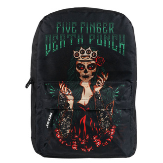 Sac à dos FIVE FINGER DEATH PUNCH - GREEN, NNM, Five Finger Death Punch