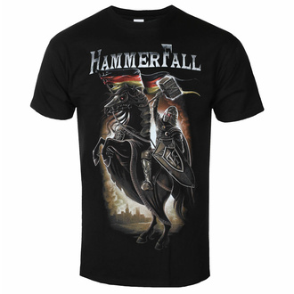 T-shirt Hammerfall pour hommes - Hector On Horse - ART WORX, ART WORX, Hammerfall