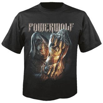 T-shirt pour hommes POWERWOLF - Hourglass - NUCLEAR BLAST, NUCLEAR BLAST, Powerwolf