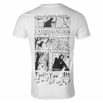 T-shirt pour homme Carpathian Forest -Evil Egocentric Existentialism - blanc - SEASON OF MIST, SEASON OF MIST, Carpathian Forest