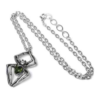Collier ALCHEMY GOTHIC - Emerald Spiderling - Étain, ALCHEMY GOTHIC