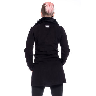 Manteau POIZEN INDUSTRIES - ENDORA - NOIR, POIZEN INDUSTRIES