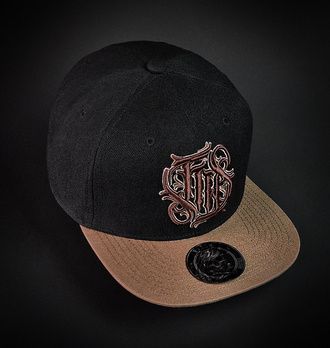 Casquette HYRAW - SKULL AND ROSES, HYRAW